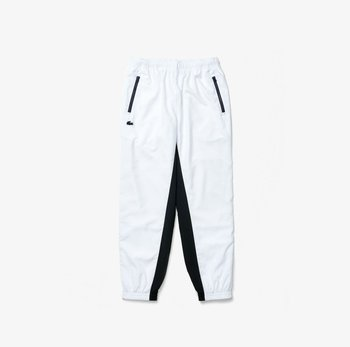 Broek - weiß / navy blau