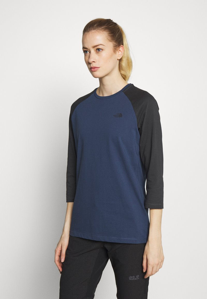 The North Face - WOMENS CORREIA TEE - Langarmshirt - blue wing teal