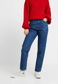 Gina Tricot - DAGNY HIGHWAIST - Jeans Relaxed Fit - true blue - 0