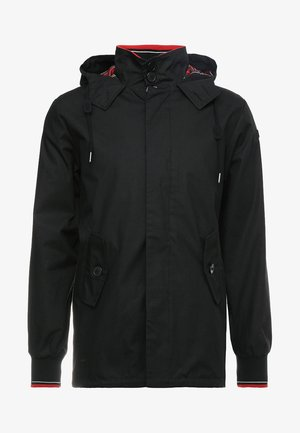 MICK HOODED - Veste légère - black