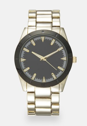 UNISEX - Horloge - gold-coloured/black