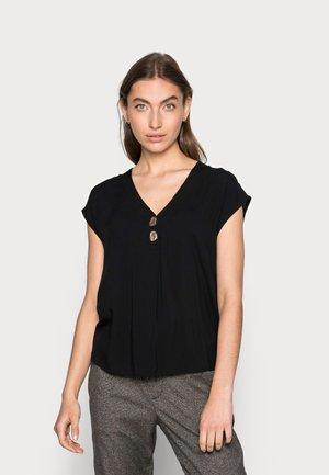 BLUSE ELIPSE - Basic T-shirt - schwarz