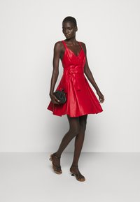 Pinko - CREATIVO ABITO SIMILPELLE - Day dress - red - 1