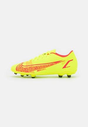 MERCURIAL VAPOR 14 CLUB FG/MG - Moulded stud football boots - volt/bright crimson