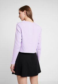 Monki - MATHILDA CARDIGAN - Cardigan - purple - 2