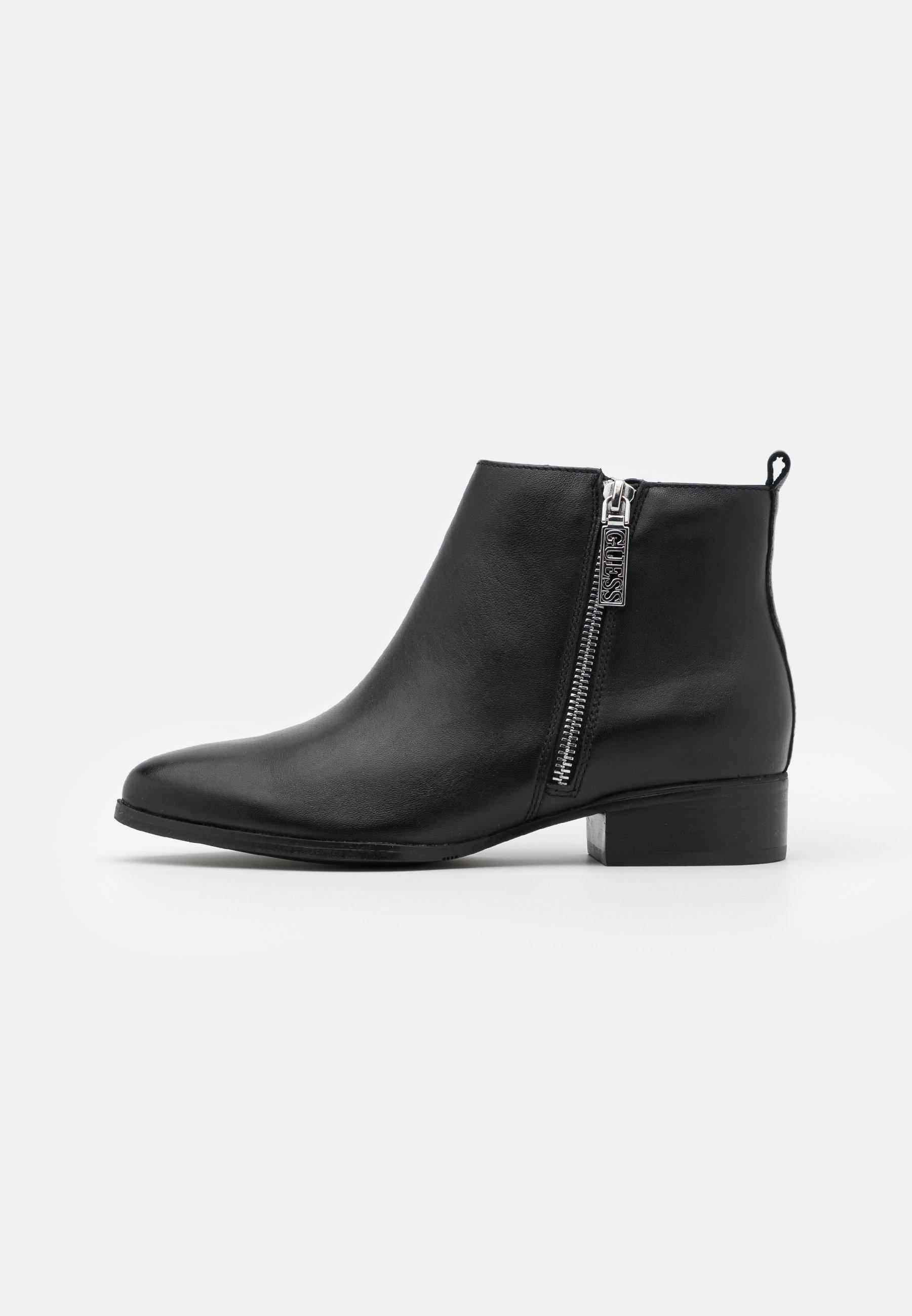 Guess Valony - Ankelstøvler Black
