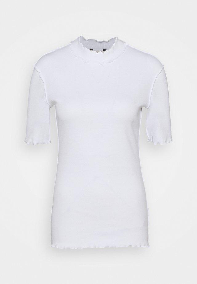 ROSE TEE - T-shirt imprimé - white