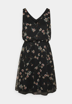 VMWONDA NEW SINGLET SHORT DRESS - Day dress - black/eliza