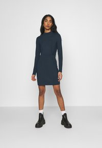 Vero Moda - VMNORA SHORT DRESS - Day dress - navy blazer - 1