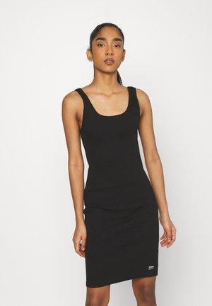 NADJA DRESS - Jersey dress - black