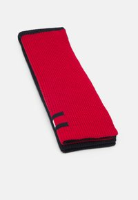 Tommy Hilfiger - BIG FLAG SCARF UNISEX - Scarf - dark blue/red - 1