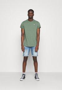 G-Star - LASH - Basic T-shirt - teal grey - 1
