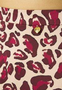 Fabienne Chapot - CLAIRE SKIRT - A-line skirt - oatmeal/parrot purpl - 4