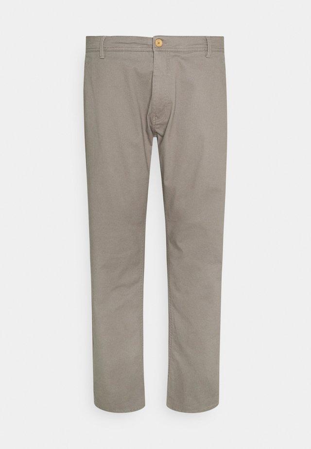 BHNATAN PANTS - Spodnie materiałowe - granite