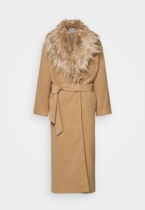 COLLAR COAT - Manteau classique - beige
