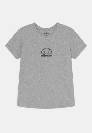 MARYAM UNISEX - Print T-shirt - grey marl