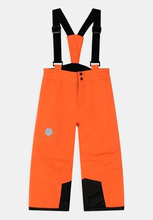 PANTS UNISEX - Schneehose - orange clown fish