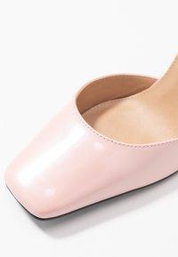 NA-KD - SQUARED - Escarpins à talons hauts - dusty pink - 2