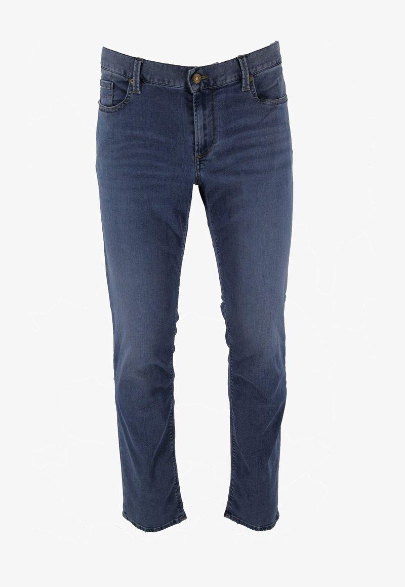 ALBERTO Pants - PIPE - Slim fit jeans - lightblue