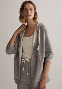 OYSHO - Zip-up hoodie - light grey - 0
