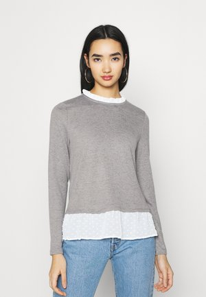 JDYTONSY DETAIL  - Jumper - dark grey melange