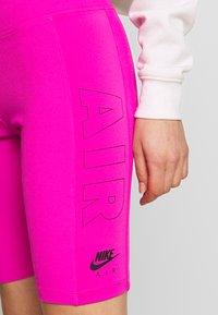 Nike Sportswear - W NSW AIR BIKE - Kraťasy - fire pink - 4