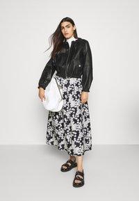 Lovechild - LONG SEVERIN - A-line skirt - black - 1