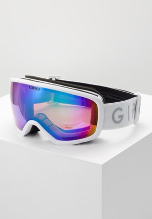 RINGO - Ski goggles - white core light/pink