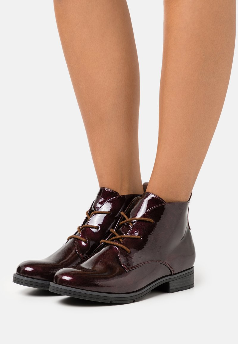 Jana - Ankle boots - vino
