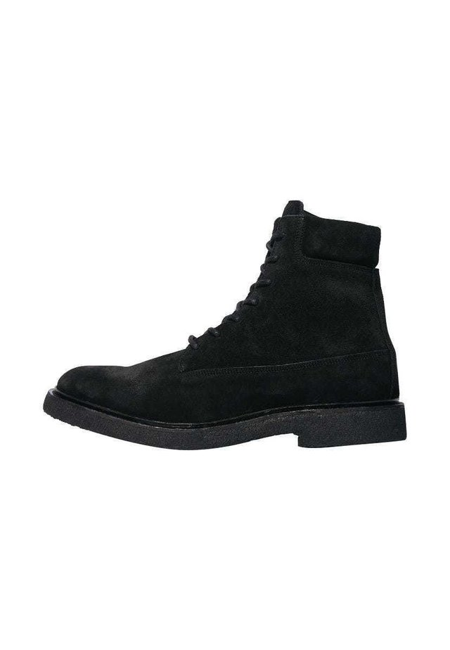 MARCO - Lace-up ankle boots - black