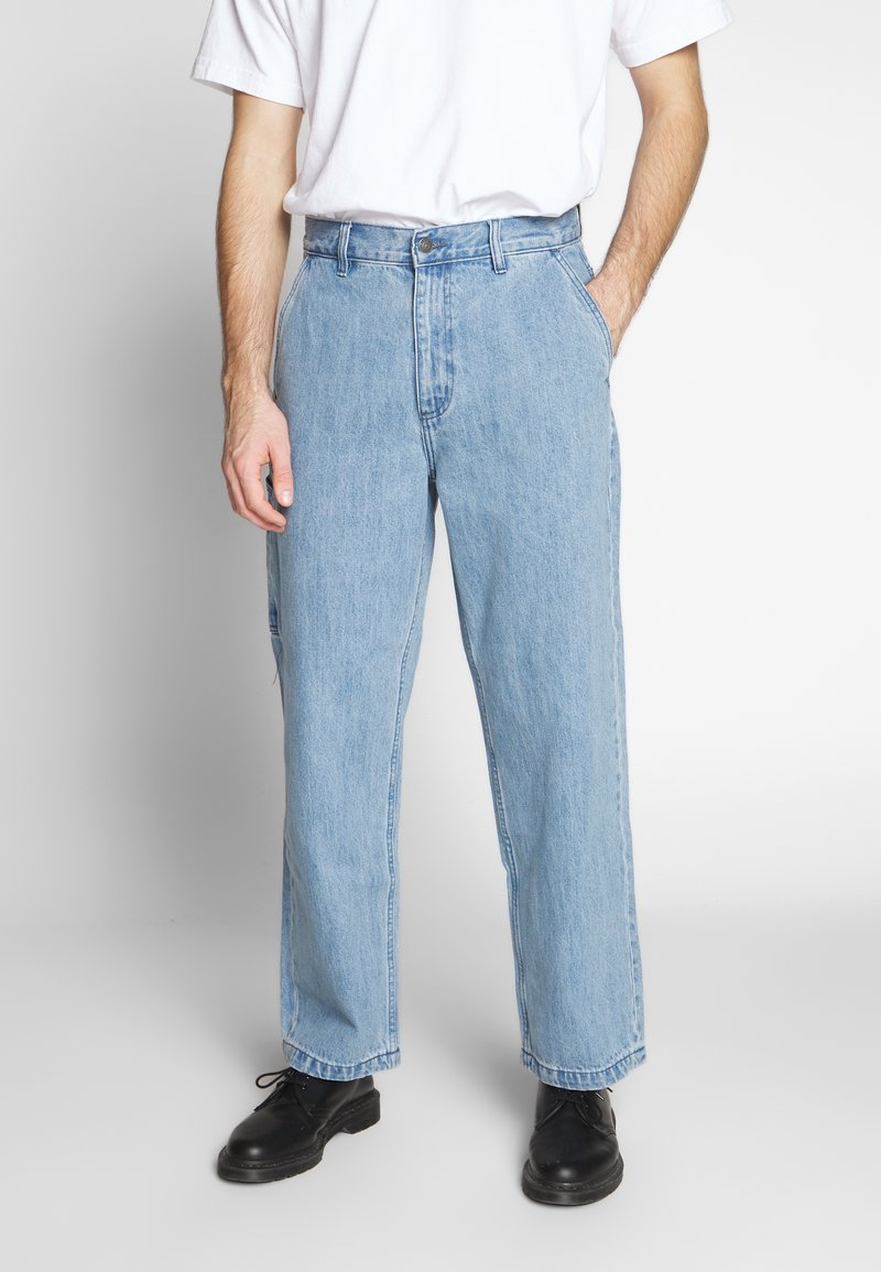 Obey Clothing - HARD WORK CARPENTER - Jeans relaxed fit - light indigo