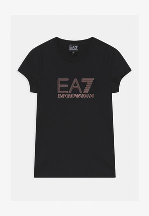 EA7  - T-shirt print - black