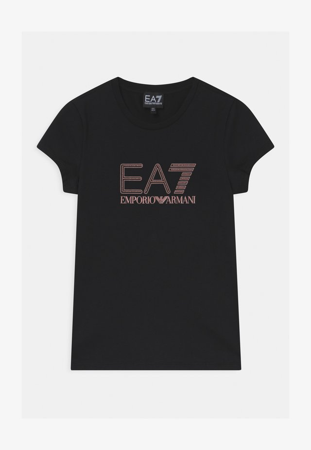 EA7  - Camiseta estampada - black