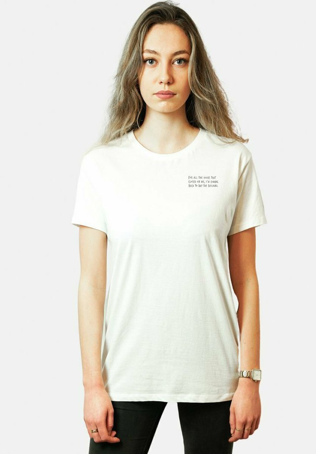 CHALLENGER - T-shirts print - white
