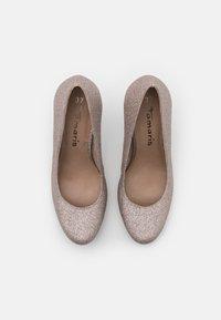 Tamaris - COURT SHOE - Zapatos altos - space glam - 5