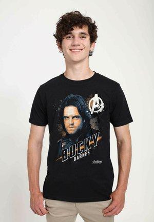 MARVEL UNISEX REAL BUCKY  - T-shirt print - black