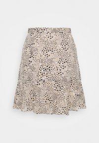 Marks & Spencer London - TIERED MINI SKIRT - Minikjol - beige - 1