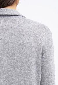 Zalando Essentials - CASHMERE - Cardigan - light grey melange - 3