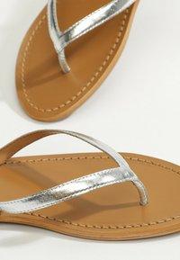 White Sun - BOAVISTA  - T-bar sandals - silver - 5