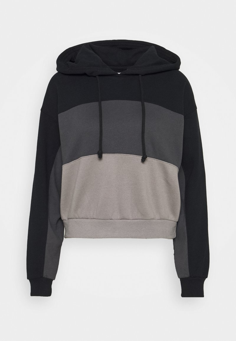Abercrombie & Fitch - LAYER CHASE - Hoodie - black