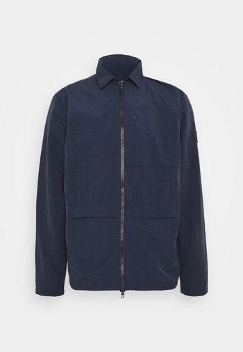 OVERSHIRT VEGAN - Summer jacket - dark blue