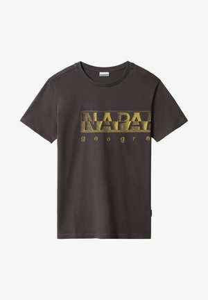 SALLAR LOGO - T-shirt med print - dark grey solid