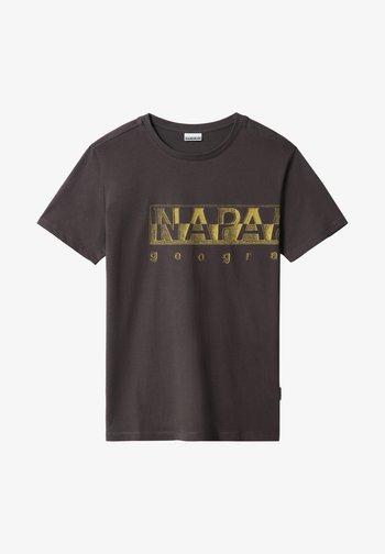 SALLAR LOGO - Print T-shirt - dark grey solid