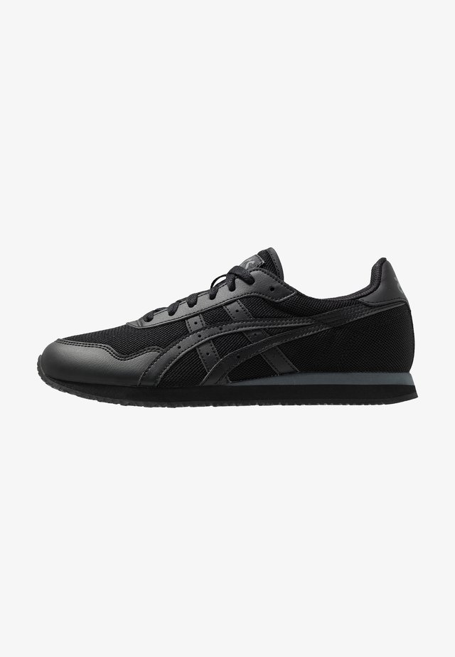 TIGER RUNNER UNISEX - Sneakersy niskie - black
