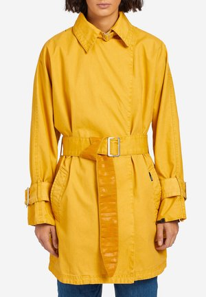 LUCILLE - Trenchcoat - yellow