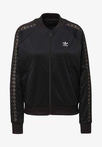 adidas Originals - LACE TRACK TOP - Kurtka Bomber - black - 7