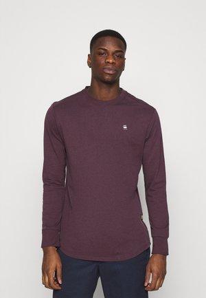 LASH - Long sleeved top - bordeaux