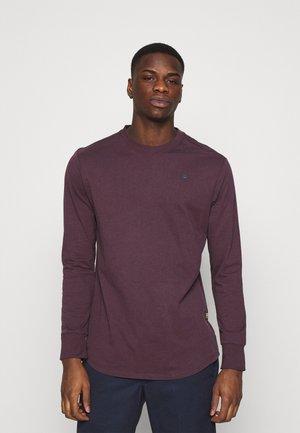 LASH R T L\S - Long sleeved top - bordeaux