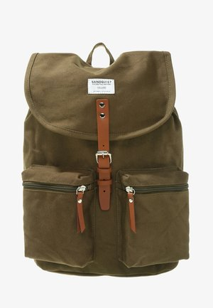 ROALD GROUND - Ryggsekk - olive