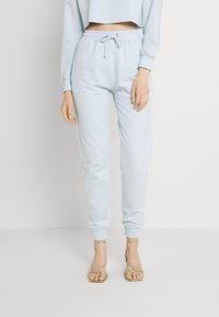 Missguided - OFF THE SHOULDER SET - Sweatshirt - baby blue - 3